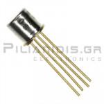Transistor NPN Vceo:15V Ic:50mA 900MHz ΤΟ-72