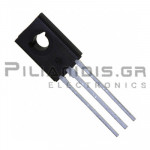 Transistor PNP Vceo:-80V Ic:-1,5A Pc:12,5W TO-126