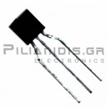 Transistor NPN Vceo:500V Ic:300mA Pc:625mW 20MHz ΤΟ-92