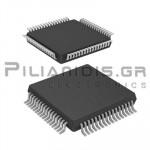 ATMEGA128-AU  Microcontroller 8 bit 2,7V 128kB Flash 16MHz TQFP-64
