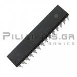 ATMEGA168-20PU Microcontroller 8bit 2.7V 16kB Flash 20MHz SDIP28