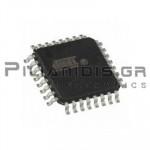 ATMEGA8-16AU Microcontroller 8bit 5V 8kB Flash 16MHz TQFP32