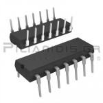 CMOS Logic; Quad 2-Input NAND Schmitt Triggers DIP-14