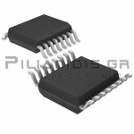 Analog Multiplexer/Demultiplexer control with LSTTL SOIC-16