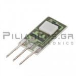 Hall effect sensor single output 6.6 - 12.6V/30mA -550/+550Gauss