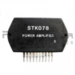 Hybrid Audio Amplifier  24W  ±25V