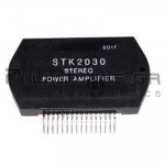 Hybrid Audio Amplifier 2x30W ±30V