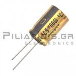 Πυκνωτής Audio  1000μF   63V  85C     16x25mm RM7.5