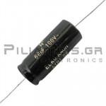 CAP-68.0-μF 100V bipolar 16x39mm