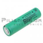 Μπαταρία επαναφορτιζόμενη Li-Ion 18650  3.6V/1750mAh  Ø18.6 x 65.2mm