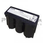 Lead Acid Battery 6V 8,0Ah 139x54x102 Cyclon
