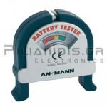BATTERY TESTER ANSMANN AA/AAA/9V