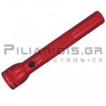 Φακός D series 60Lm (269m) με 3xD Κόκκινο
