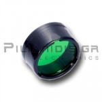 Φίλτρο φακού Ø25,4mm Πράσινο