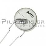 Thermistor PTC Current   150R 43mA  2.8A  O8.5mm
