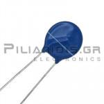 Varistor Metal-Oxide 300VAC, 385VDC, 4500A, 76J, Disc Ø15,5mm
