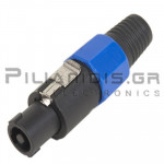 CONNECTOR SPEAKON 4pin ΑΡΣΕΝΙΚΟ