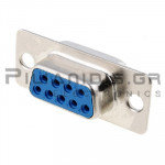 CONNECTOR D-SUB ΘΗΛYKO  9pin