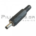 CONNECTOR DC 1.10mm x 3.80mm