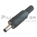 CONNECTOR DC 1.30mm x 3.50mm