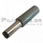 CONNECTOR DC 2.10mm x 5.50mm ΜΑΚΡΥ