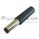 CONNECTOR DC 2.50mm x 5.50mm ΜΑΚΡΥ