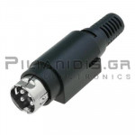 CONNECTOR DC 4pin 7.5Α/20VDC
