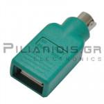 ADAPTOR USB ΘΗΛΥΚΟ - DIN ΑΡΣΕΝΙΚΟ