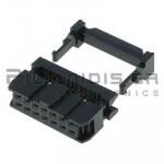 Connector IDC 2.54mm ΚΑΛΩΔΙΟΥ 1.27mm ΘΗΛYKO ΙΣΙΟ 2x7pins