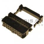 Connector IDC 2.54mm ΚΑΛΩΔΙΟΥ 1.27mm ΘΗΛYKO ΙΣΙΟ 2x8pins