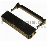 Connector IDC 2.54mm ΚΑΛΩΔΙΟΥ 1.27mm ΘΗΛYKO ΙΣΙΟ 2x13pins