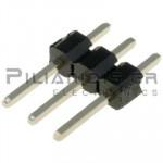 Pin header THT 2.54mm ΑΡΣΕΝΙΚΟ ΙΣΙΟ 1x3pins