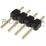 Pin header THT 2.54mm ΑΡΣΕΝΙΚΟ ΙΣΙΟ 1x4pins