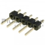 Pin header THT 2.54mm ΑΡΣΕΝΙΚΟ ΙΣΙΟ 1x5pins
