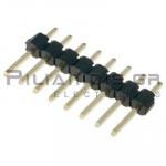Pin header THT 2.54mm ΑΡΣΕΝΙΚΟ ΙΣΙΟ 1x8pins