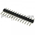 Pin header THT 2.54mm ΑΡΣΕΝΙΚΟ ΙΣΙΟ 1x14pins
