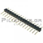Pin header THT 2.54mm ΑΡΣΕΝΙΚΟ ΙΣΙΟ 1x16pins