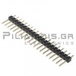 Pin header THT 2.54mm ΑΡΣΕΝΙΚΟ ΙΣΙΟ 1x20pins