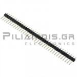 Pin header THT 2.54mm ΑΡΣΕΝΙΚΟ ΙΣΙΟ 1x36pins