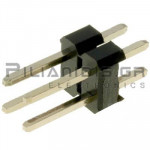 Pin header THT 2.54mm ΑΡΣΕΝΙΚΟ ΙΣΙΟ 2x2pins