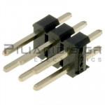 Pin header THT 2.54mm ΑΡΣΕΝΙΚΟ ΙΣΙΟ 2x3pins