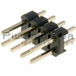 Pin header THT 2.54mm ΑΡΣΕΝΙΚΟ ΙΣΙΟ 2x4pins