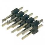 Pin header THT 2.54mm ΑΡΣΕΝΙΚΟ ΙΣΙΟ 2x5pins