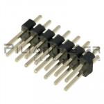 Pin header THT 2.54mm ΑΡΣΕΝΙΚΟ ΙΣΙΟ 2x7pins