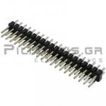 Pin header THT 2.54mm ΑΡΣΕΝΙΚΟ ΙΣΙΟ 2x20pins