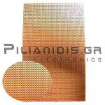 Epoxy Board, Lines 39, Pitch: 2,54 Cu 35μm 100x160mm