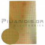 Epoxy Board, hole lines 39, Pitch: 2,54 Cu 35μm 100x160mm