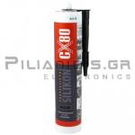 Σιλικόνη μαύρη για σφράγισμα (-65oC +380oC)  310ml
