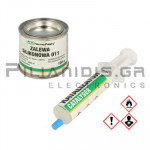 Silicone for encapsulating Transparent (Density: 0,97 g/cm³) Two-Component  100gr
