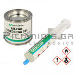 Silicone for encapsulating White (Density: 1,2 g/cm³) Two-Component  100gr